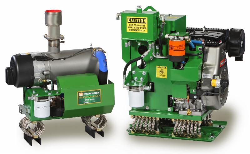 PDI's patented PowerHouse™ APU unit