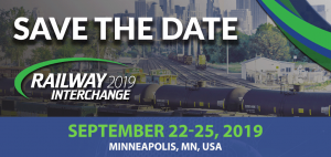 Save the Date for Railway Interchange 2019