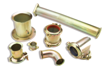Brass hydraulic joints to connect tube and pipe