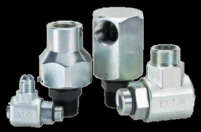 Hydraulic steel live swivel joints