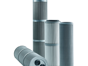 Group of hydraulic filter elements