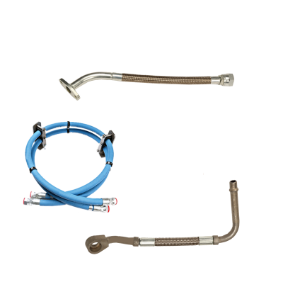 Diesel Engine AQP hose and steel hose and tube
